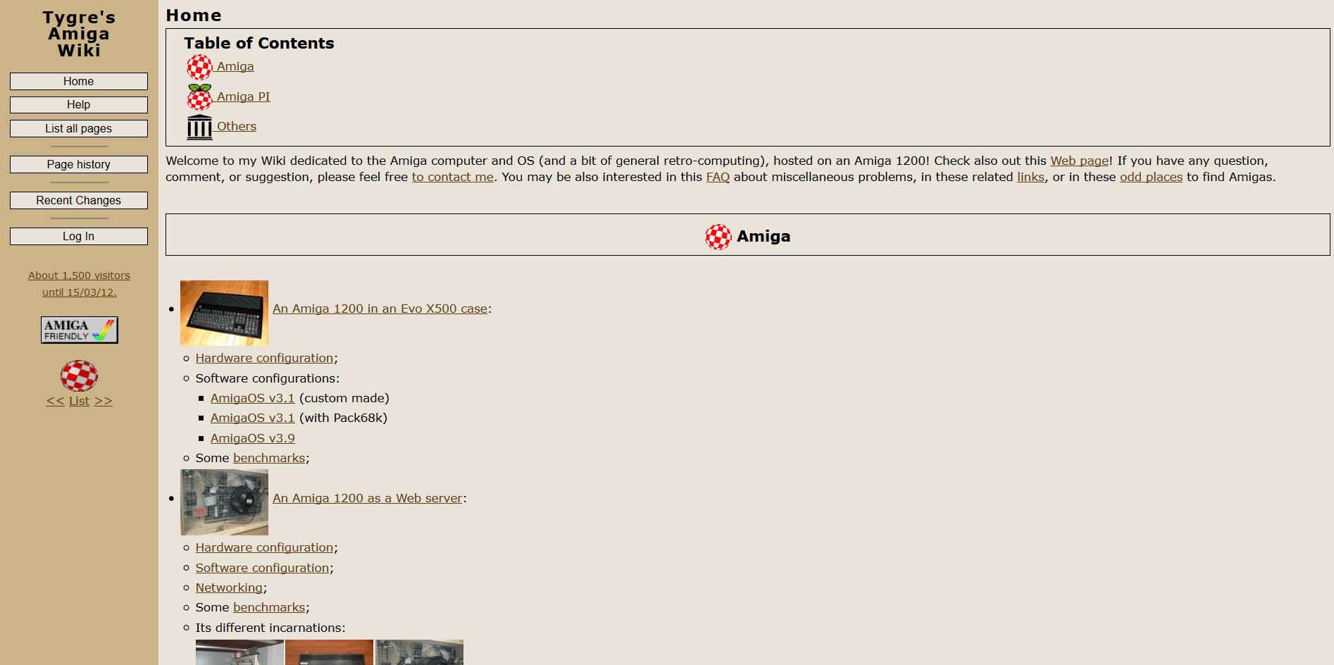 Amiga Universe : the Amiga links database